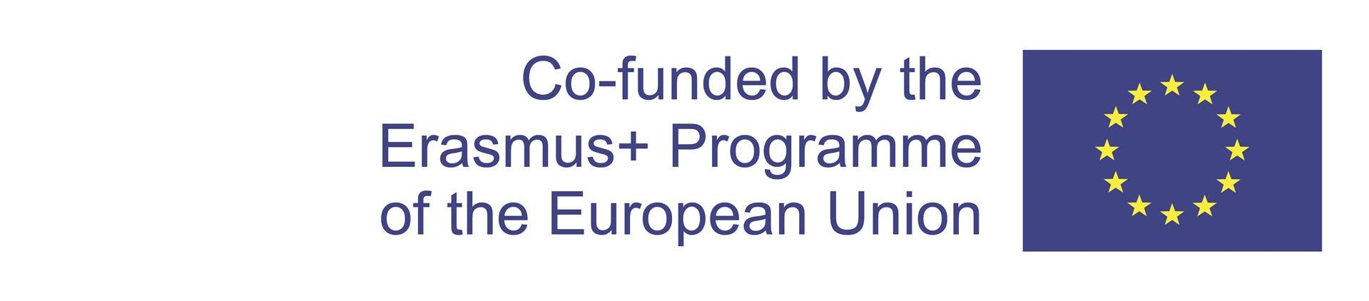 Co-funded by the Erasmus+Programme of the European Union -logo.